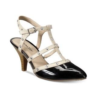Rialto Womens Mariella Pointed Toe Ankle Strap Classic Pumps