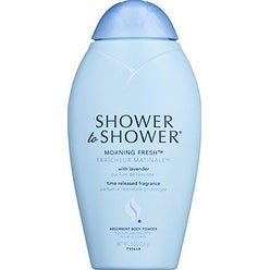 Shower/shower Powd Morn Fresh 8 Oz
