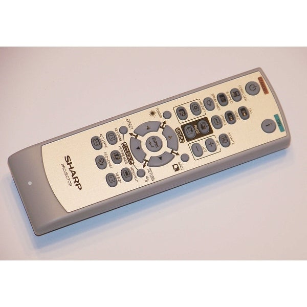 OEM Sharp Remote Control: PGD4010X, PG-D4010X, PGD45X3D, PG-D45X3D, PGF212X, PG-F212X