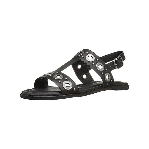 Lucky Brand Womens Ansel2 Flat Sandals Strappy Open Toe