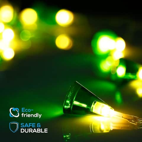 7.3ft 20 LED Rose / Novelty String Lights