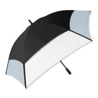 "The Indestructible Umbrella Black/White/Gray XL 68"" Fiberglass Straight Umbrella"