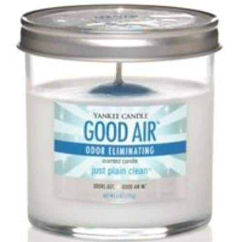 Yankee Candle1155856 Good Air Glass Tumbler Candle Clean, 6 Oz