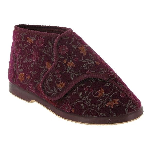 Shop Gbs Bella Ladies Wide Fit Slipper