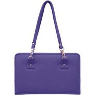 Blue - Thames Faux Leather Bag