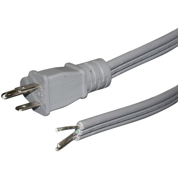 Certified Appliance 15-0346St Flat Appliance Power Cord, 15 Amps (6Ft)
