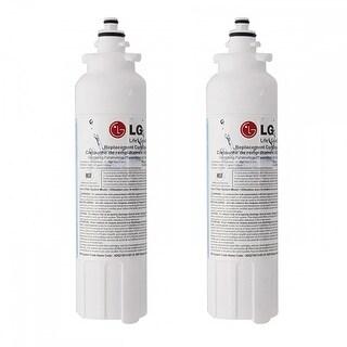 LG LT800P 200 Gallon Capacity Refrigerator Water Filter - Genuine OEM (Pack of 2)