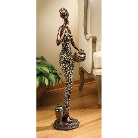 Design Toscano African Water Gatherer Statue