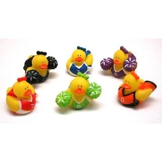 Cheerleader Rubber Ducks