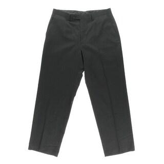 Sean John Mens Straight Leg Flat Front Dress Pants