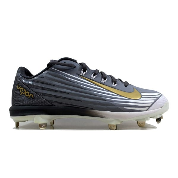 half off 065c1 62c42 Nike Men  x27 s Lunar Vapor Pro Stealth Metallic Gold-White-