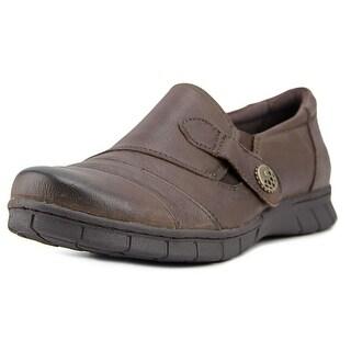 David Tate Naya Women  Round Toe Leather Brown Bootie
