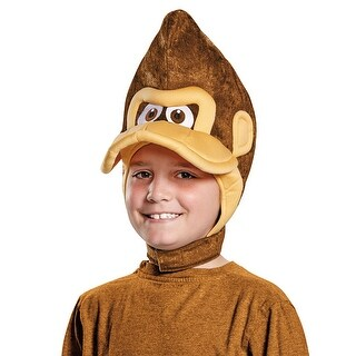 Child Donkey Kong Headpiece Costume Accessory