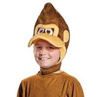 Child Donkey Kong Headpiece Costume Accessory