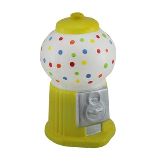 Colorful Polka Dot Ceramic Gumball Machine Coin Bank