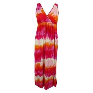 INC International Concepts Women's V-Neck Maxi Dress