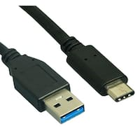 USB 3.0 A Male to Type C Male Cable - 10gb - 3ft