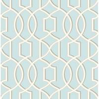 Brewster 2625-21812 Quantum Sky Trellis Wallpaper