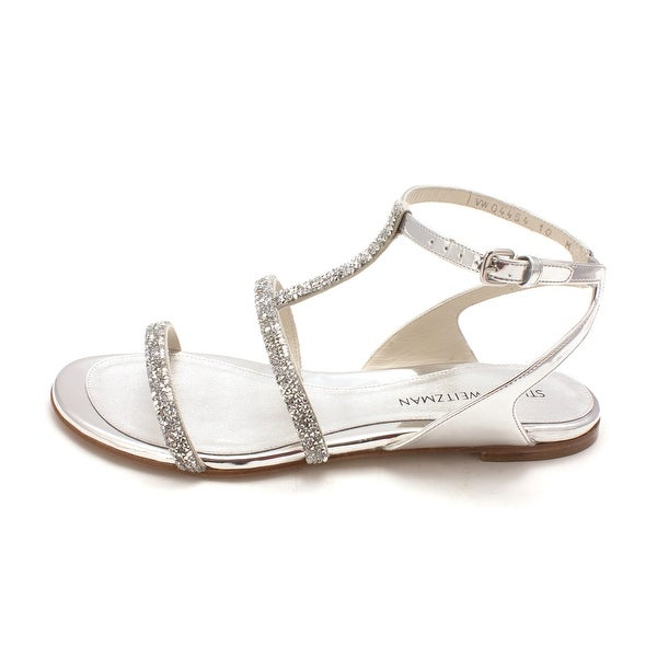 Stuart Weitzman Womens Sweetee Open Toe Special Occasion Ankle Strap Sandals