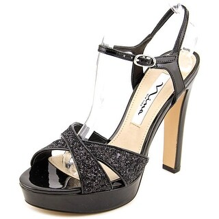 Nina Maria Women Open Toe Synthetic Platform Heel