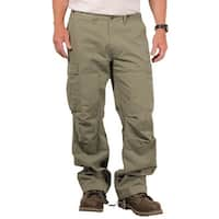 The Field Men's Solid Twill Utility Cargo Pant