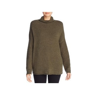 French Connection Womens Funnel-Neck Sweater Flossy Long Sleeve