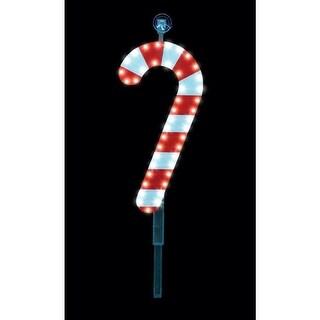 """Santa's Best 7407416U Christmas LED Candy Cane Window Decor, 16"""""""