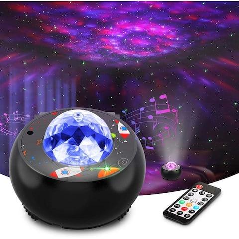 Star Projector Night Light Projector Music Speaker & Remote Control