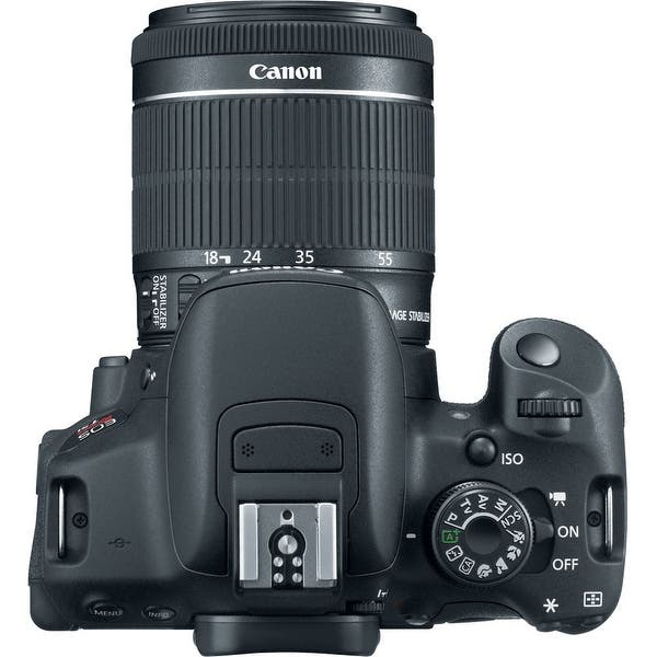 Shop Canon Eos Rebel T5i 18 Mp Cmos Dslr Camera F 3 5 5 6