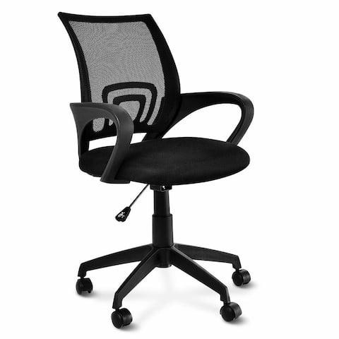 Costway Ergonomic Mid-back Mesh Computer Office Chair Desk Task Task