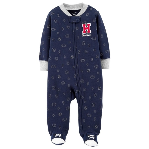 Carters Boys 0-9 Months Sport Sleep and Play
