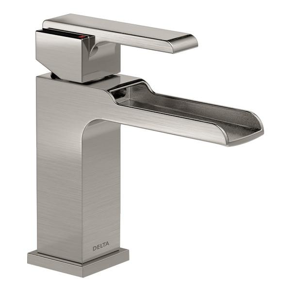 Delta 568LF-LPU Ara 1.2 GPM Single Hole Waterfall Bathroom Faucet