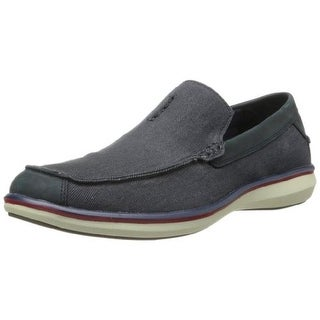 Skechers Mens Ryde Canvas Slip On Loafers