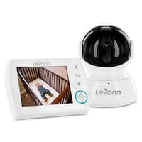 "Levana Astra 3.5"" PTZ Digital Baby Video Monitor w/ Talk to Baby Intercom -32006"