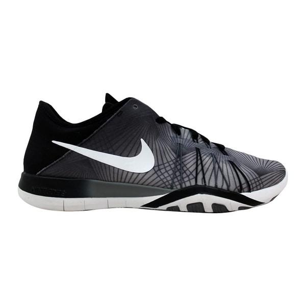 100% authentic 6d36d a8006 Nike Free TR 6 Print Black White-Cool Grey 833424-005 Women