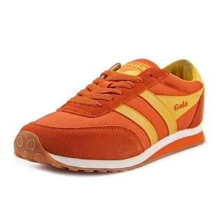 Gola Lady Runner Women Round Toe Suede Orange Fashion Sneakers
