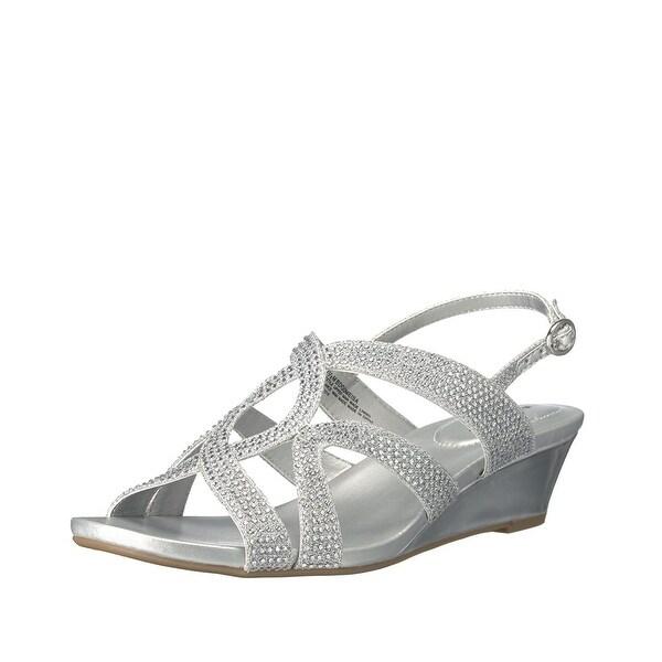 Bandolino Gomeisa Embellished Wedge Sandal - 9.5 b(m)