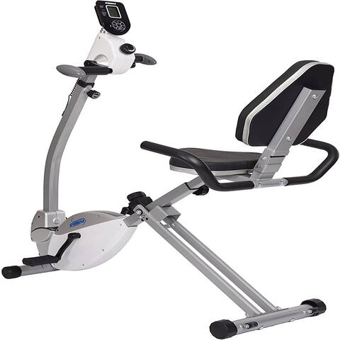 Recumbent Exercise Bike with Upper Body Exerciser