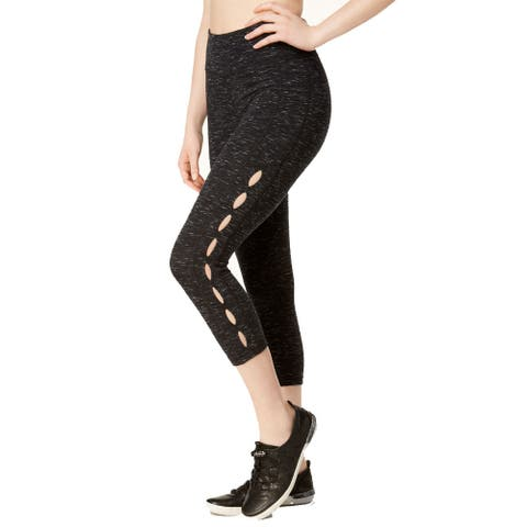 Calvin Klein Performance Women's Fitness Yoga Athletic Leggings (Space-Dye Small)