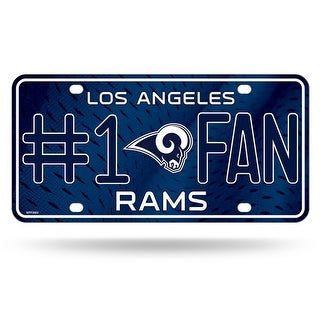 Los Angeles Rams License Plate 1 Fan