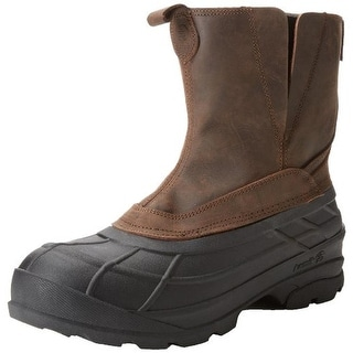 Kamik Mens Dawson Snow Boots Leather Thinsulate