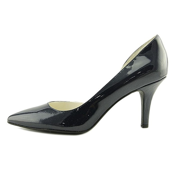 Anne Klein Womens Yolden Fabric Pointed Toe D-orsay Pumps