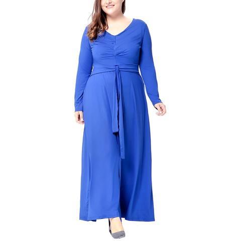 Romanissa Plus Maxi Dress