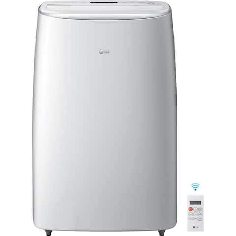 LG 115V Dual Inverter Portable Air Conditioner, Wi-Fi Control