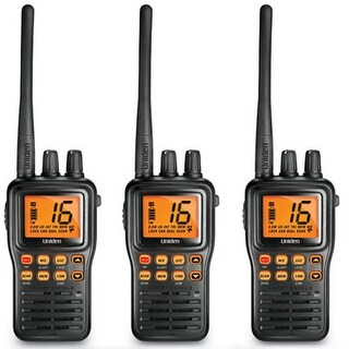 Uniden MHS75 3-Pack MHS75 Two-Way Marine Radio