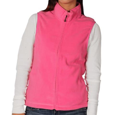 Landmark Ladies Full-Zip Micro-Fleece Vest
