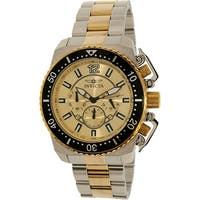 Invicta Men's Pro Diver  Two-Tone Stainless-Steel Plated Diving Watch