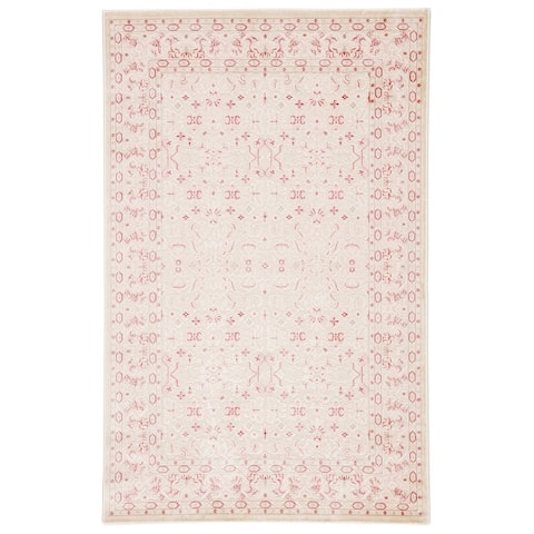 The Curated Nomad Blueberry Butte Damask Area Rug