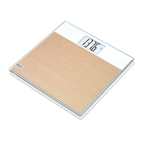 Beurer Digital Weight Glass Body Scale, GS21 L
