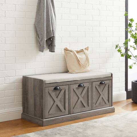 The Gray Barn 3-Drawer Storage Bench